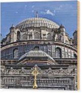 Beyazit Camii Mosque Wood Print