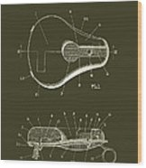 Bicycle And Motorcycle Seat 1925 Patent Wood Print