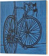 Bike 4 Wood Print