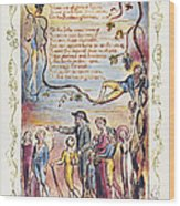 Blake: Songs Of Innocence Wood Print