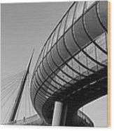 Bridges In The Sky Wood Print