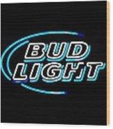 Bud Light Wood Print