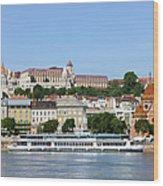 Budapest Cityscape Wood Print