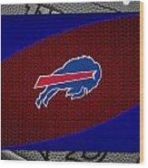 Buffalo Bills Wood Print by Joe Hamilton