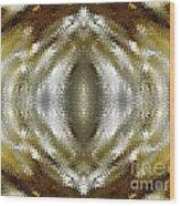 Cafe Au Lait Kaleidoscope Wood Print