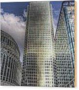 Canary Wharf Tower London Wood Print