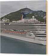 Carnival Dream Wood Print