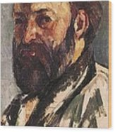 Cezanne, Paul 1839-1906. Self-portrait Wood Print
