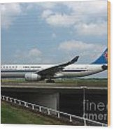 China Southern Airlines Airbus A330 Wood Print