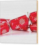 Christmas Crackers Wood Print