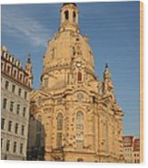 Church Of Our Lady  -  Dresden - Germany Wood Print