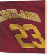 Cleveland Cavaliers Uniform Wood Print
