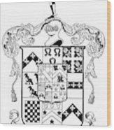 Coat Of Arms Wood Print