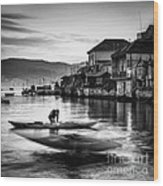 Combarro Pontevedra Galicia Spain Wood Print