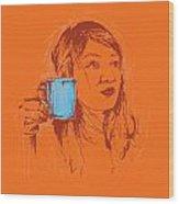 Commissioned Portraits Wood Print