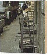 Covent Garden Market 1973 Wood Print by David Davies