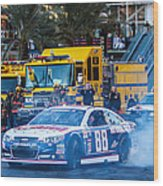 Dale Earnhardt Jr Wood Print
