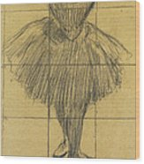 Dancer Wood Print