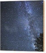 Dark Rift Of The Milky Way Wood Print