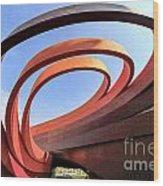 Design Museum Holon Wood Print