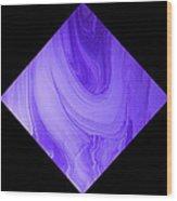 Diamond 129 Wood Print