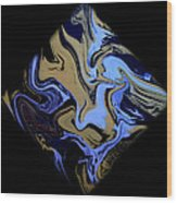 Diamond 204 Wood Print