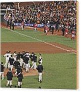 Division Series - Washington Nationals Wood Print