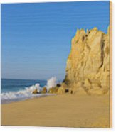 Divorce Beach, Cabo San Lucas, Baja Wood Print