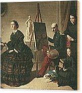 Dominguez Becquervaleriano 1834-1870 Wood Print by Everett