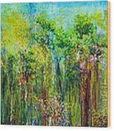 Edge Of Eden Wood Print