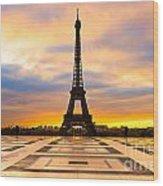 Eiffel Tower - Paris Wood Print