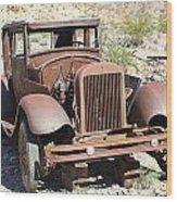 Eldorado Canyon Auto Show Wood Print