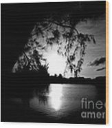 End Of Day Wood Print