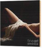 Erotic Body Part Wood Print