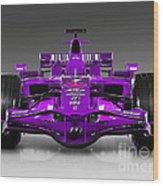 Ferrari Formula 1 Wood Print