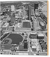 Fifth Third Field Toledo Ohio Wood Print