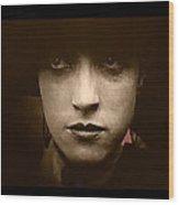 Film Homage Billy Bitzer Miriam Cooper Intolerance 1916 Screen Capture Color Added 2012 Wood Print