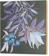Floral Wood Print