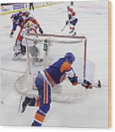 Florida Panthers V New York Islanders - Wood Print