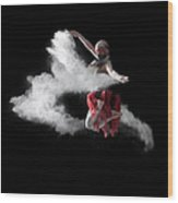 Flour Dancer Series Wood Print