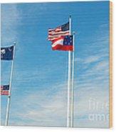 Fort Sumter, Sc Wood Print