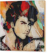 George Michael Collection Wood Print