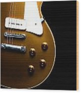 Gibson Les Paul Wood Print