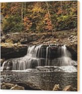 Glade Creek Mill Wood Print