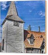 Greensted Church Ongar Wood Print