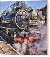 Grosmont Station Wood Print