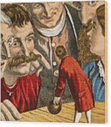 Gullivers Travels Wood Print