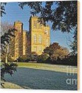 Hardwick Hall Through The Trees Wood Print