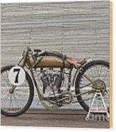Harley-davidson Board Track Racer Wood Print