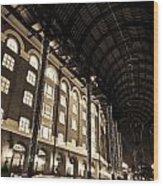 Hays Galleria London Wood Print